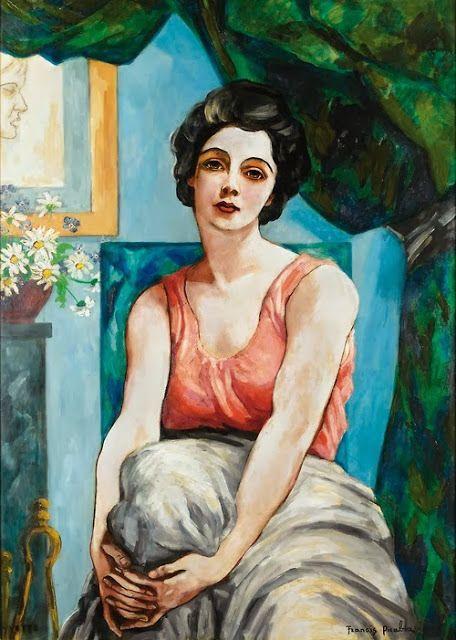Francis Picabia, Portrait d'Yvette on ArtStack #francis-picabia #art