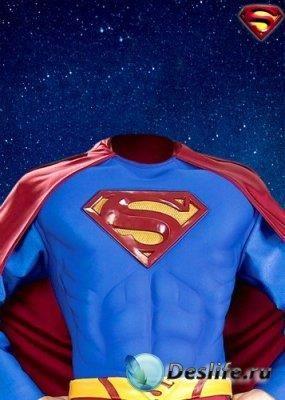 Костюмы супергероев для фотошопа psd