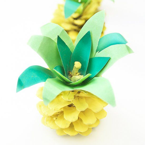 Pinecone pineapples are adorable and simple to make. Check out my tutorial and…