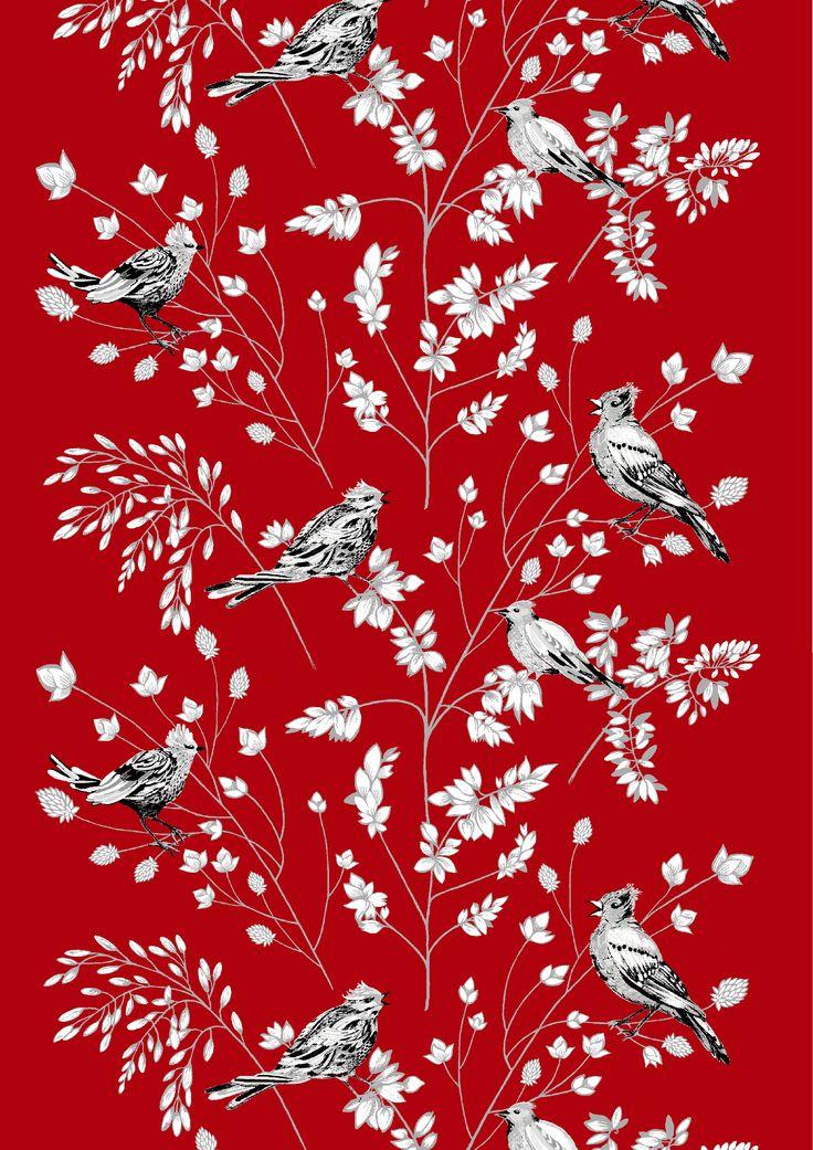 Tilhi (red) - By Matleena Issakainen