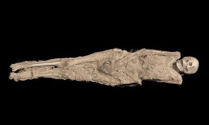 Un tatouage chrétien a été découvert sur le haut de l'intérieur de la cuisse d'une femme soudanaise momifiée, il y a quelque 1300 années