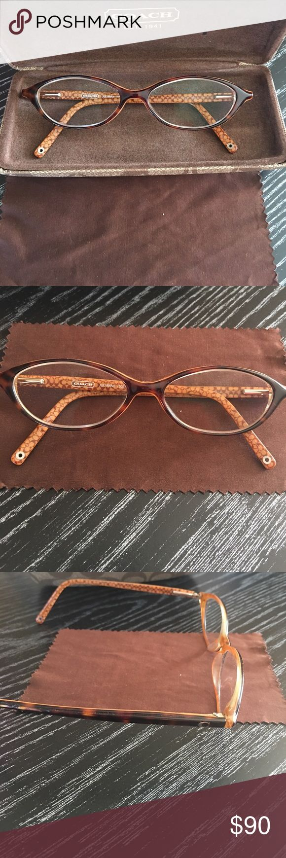 Coach glasses frame Brown signature C coach frames Coach Accessories Glasses