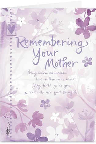 deepest sympathy messages mother | Related Pictures loss mother sympathy cards