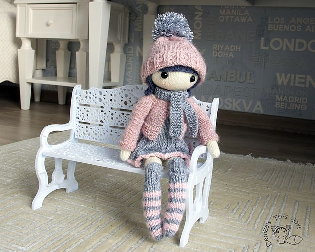 Ravelry: Masha Doll pattern by Tatyana Korobkova