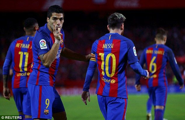 The Uruguayan will miss Barcelona's clash with Malaga but the slate will then be wiped clean