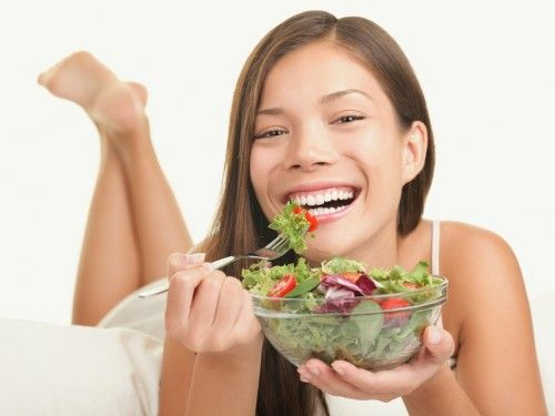 'women laughing alone with salad' meme