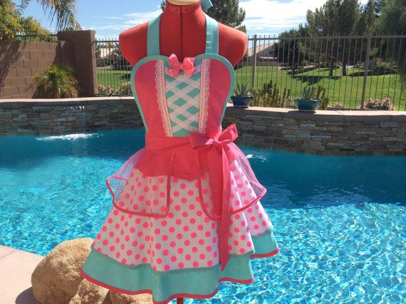Little Bo Peep Inspired Sassy Apron, Adult Costume, Cosplay, Womens Plus Sizes, Retro Chic, Full, Pin Up