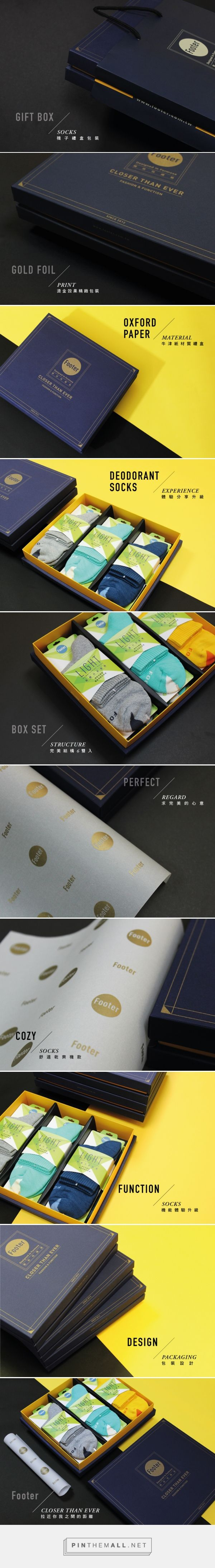 Footer | Fashion & Function Socks Gift Box | Formake Design #packaging