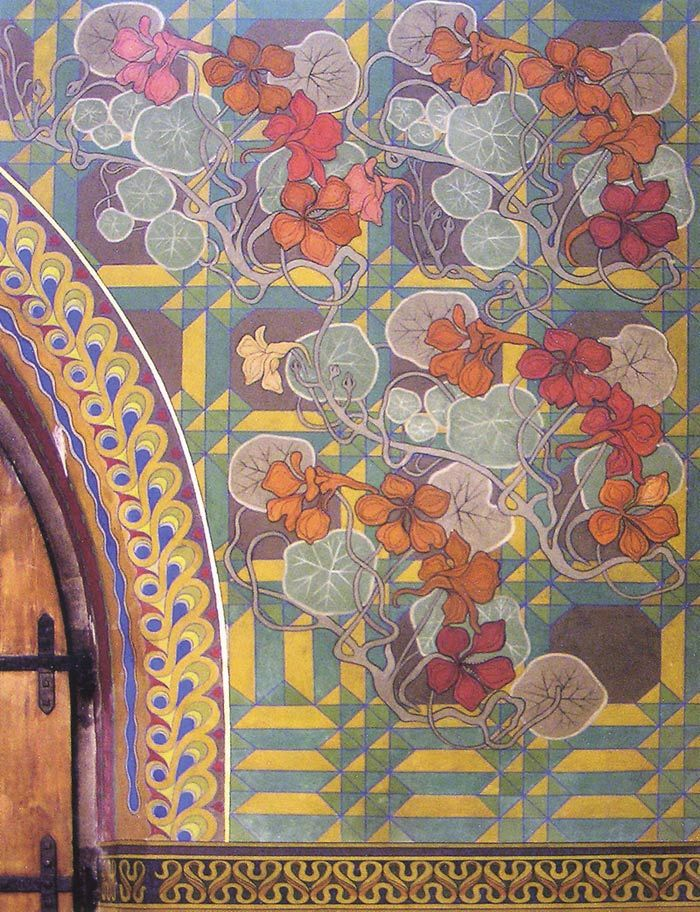 Arts crafts movement fantastic murals pinterest for Arts and crafts style prints