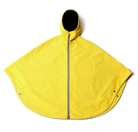 Fight the #rain in this #poncho by Otto London.