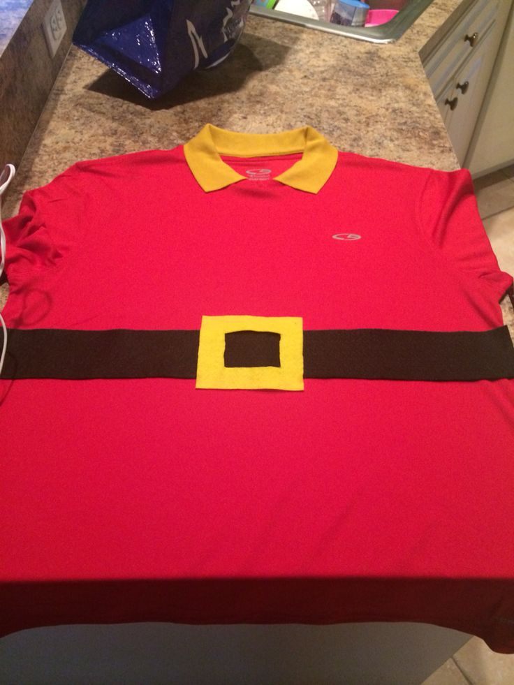 DIY Gaston Running dry fit. Gaston Costume. Beauty and the ...
