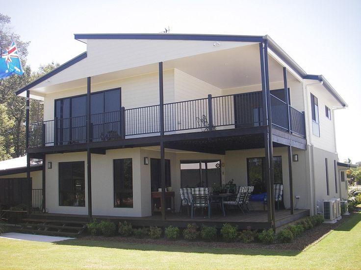 The Alex double storey design built in Chancellor Park, Queensland   Tru-Built Builders Queensland