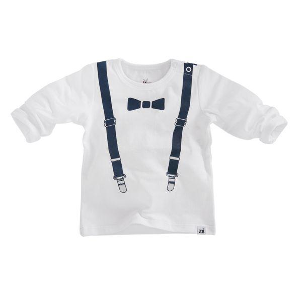 Z8 newborn shirtje 'Beaver' (maat 56)