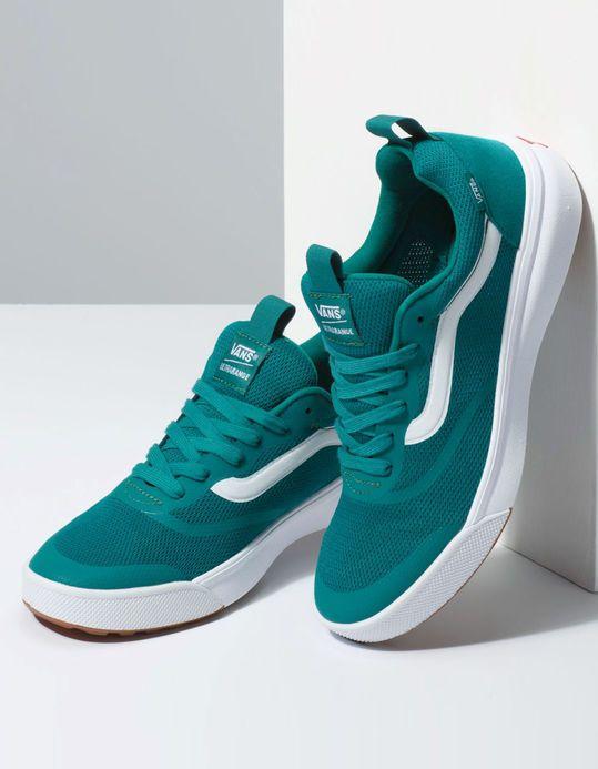 36be153619 VANS Ultrarange Rapidweld Quetzal Green   True White Shoes - GREEN -  339750500
