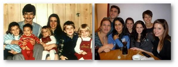 Katrina Kaif with her siblings, then and now! Guess which one is Katrina in the first pic