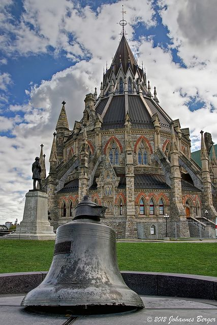 Library of Parliament, Ottawa, Canada | Flickr