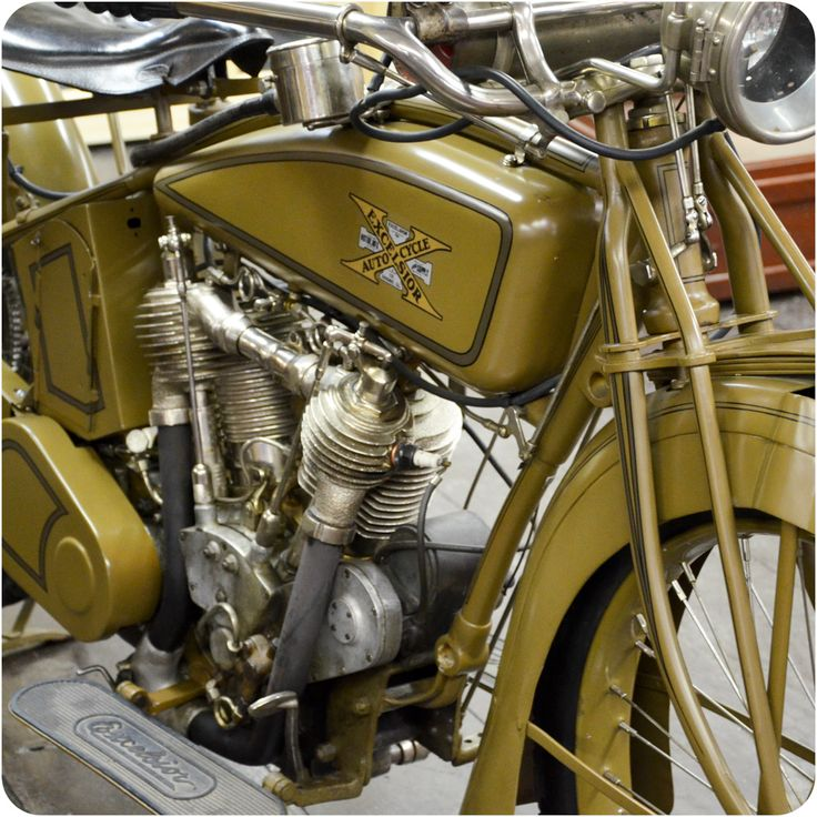 1919 Excelsior Motorcycle seen at American Police Motorcycle Museum