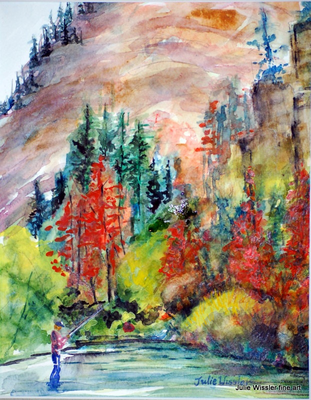 My Watercolor And Oil Paintings By Juliewissler 27 Art