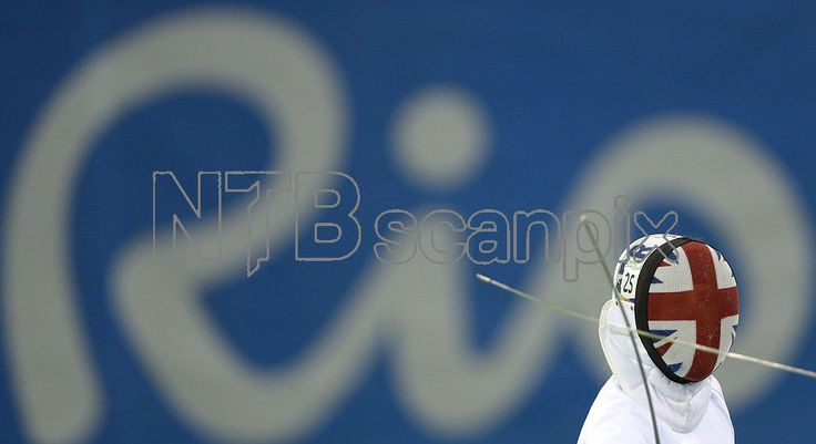 Kate French of Britain competes during the fencing portion of the women's modern pentathlon at the Summer Olympics in Rio de Janeiro, Brazil, Thursday, Aug. 18, 2016. (AP Photo/Kirsty Wigglesworth)