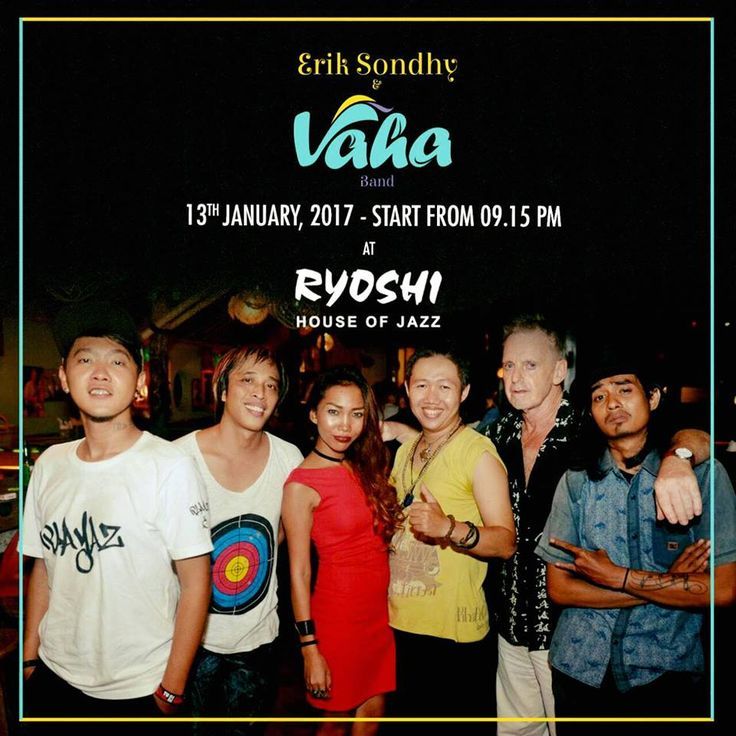 Erik Sondhy and VAHA band @ Ryoshi > Bali Event Calendar