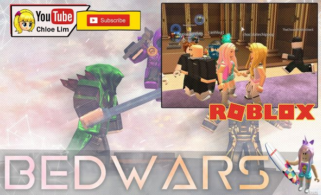 Roblox [Update] Bed Wars NOW WITH CANNONS! Gameplay - First try on Roblox bed wars not Minecraft bed wars!
