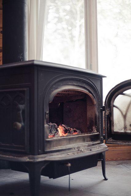 Fireplace at the cottage by vincentphoto.com, via Flickr
