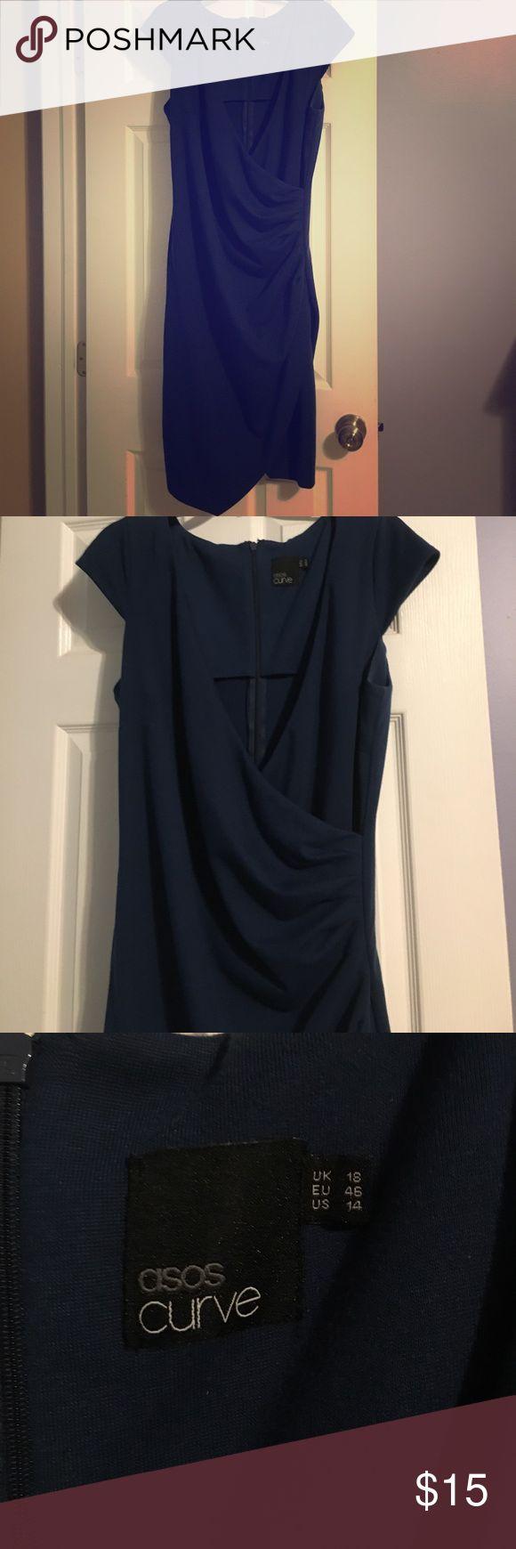 Euc asos curve dress Euc asos curve dress size 16. Bought too big! Reposh ASOS Curve Dresses Midi