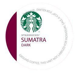 STARBUCKS SUMATRA COFFEE 96 K CUP PACKS * Click image to review more details.