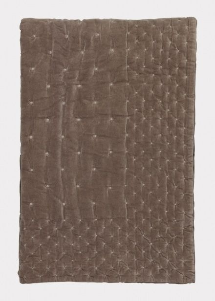 Scandi Living - Paolo Bedspread– Mole Brown, £350.00 (http://www.scandiliving.com/paolo-bedspread-mole-brown/)
