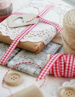 Embalagens artesanais para o natal                                                                                                                                                     Mais