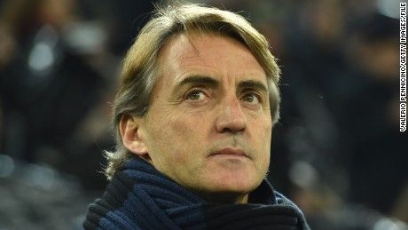 FC Internazionale Milano head coach Roberto Mancini looks on during the Serie A match between Juventus FC and FC Internazionale Milano at Juventus Arena on January 6, 2015 in Turin, Italy. (Photo by Valerio Pennicino/Getty Images)