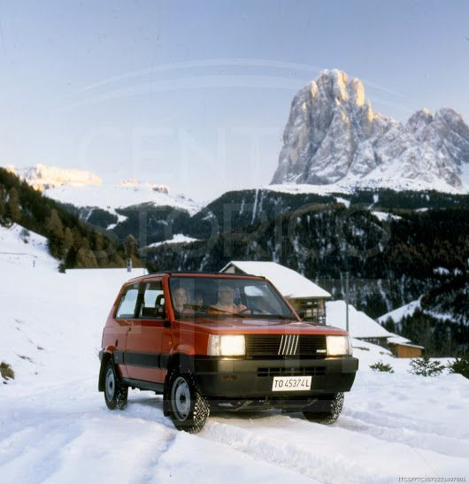 1986 Fiat Panda 4x4 #fiat