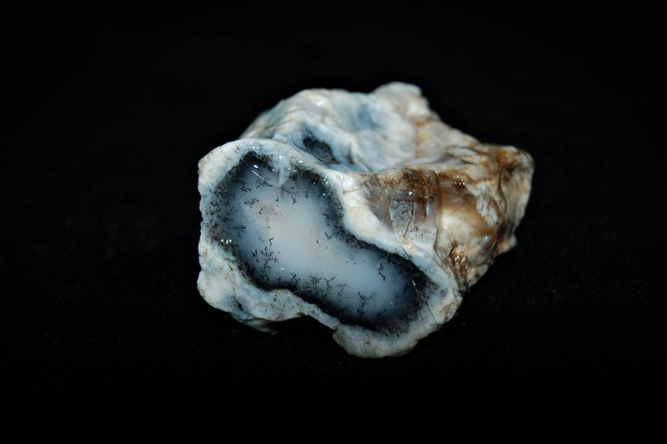 135 Gr Dendritic Agate Rare Special Piece Natural Rough