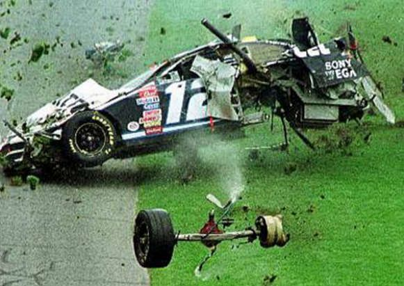 It has been awhile since we posted any videos or photos of NASCAR wrecks. We know what you people like. Check out this gallery of 25 nasty NASCAR crashes.