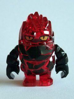Rock Monster Infernox (Trans Red with Black Arms) - LEGO Power Miners Minifigure by LEGO. $16.97. approx 2 inches tall. Lego Translucent Red Rock Monster with Black Arms Infernox. Infernox Rock Minifigure is from Lego Power Miner's series. Lego Translucent Red Rock Monster with Black Arms Infernox. Infernox Rock Minifigure is from Lego Power Miner's series approx 2 inches tall