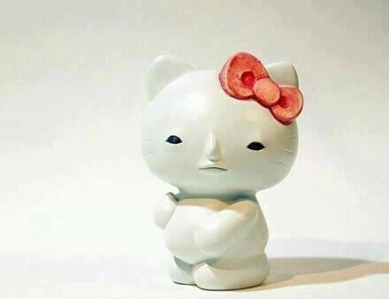 No Makeup Hello Kitty