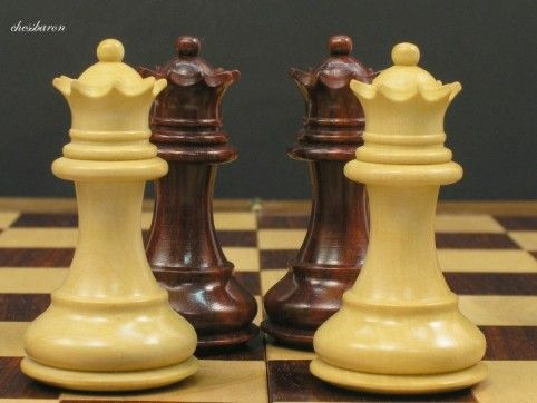 Stallion Knight Chess Set 3 inch King - BudRosewood