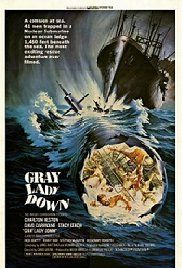 Watch online full movie Gray Lady Down (1978) for free  A Navy Captain uses his experimental Snark to reach a nuclear submarine stuck on an ocean ledge. Director: David Greene Writers: David Lavallee (novel), James Whittaker (screenplay) Stars: Charlton Heston, David Carradine, Stacy Keach