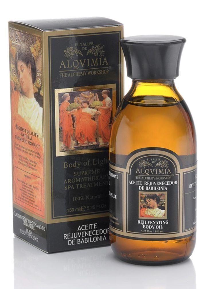 Olej Babilonia Skuteczne ujędrnianie ciała wyjątkowi skuteczny w 100% naturalny kosmetyk oparty na najwyższej jakości oleju z migdała i mieszance olejków eterycznych