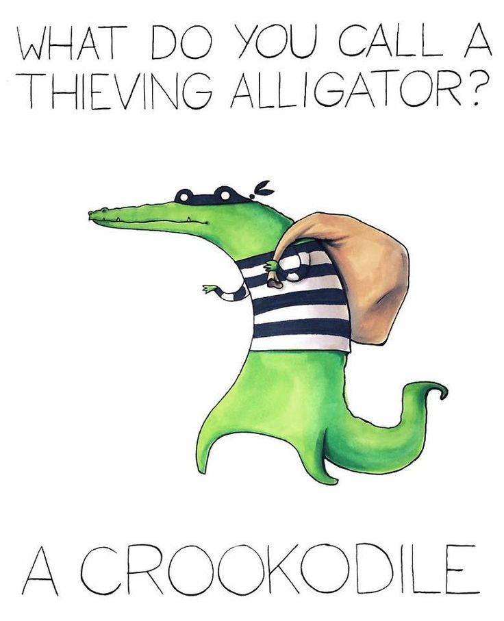 What do you call a thieving alligator? | Halloween ...