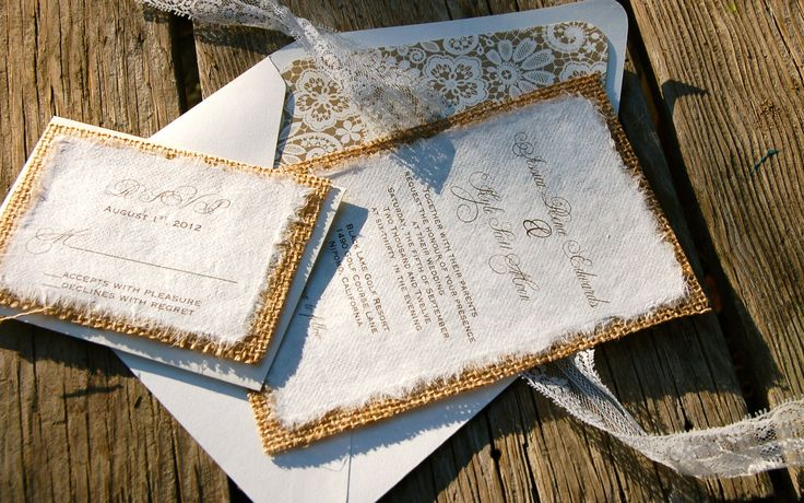 Burlap Wedding Invitations Diy: 227 Best Wedding Ideas Images On Pinterest