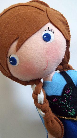 Princesa Anna - Frozen