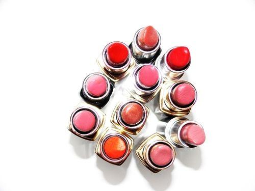 Bobbi Brown, MAC and MAke Up For Ever lipsticks