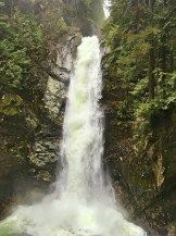 Cascade Falls Regional Park: waterfall in Mission, BC