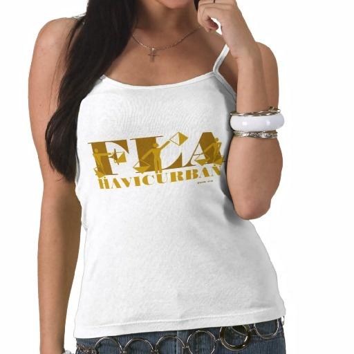 FLORIDA FLA SPAGHETTI TSHIRT HAVIC ACD Women's Cool Tank Tops #Florida #women