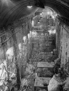 Snowy hydro tunnels