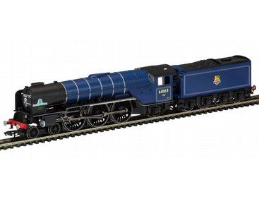 The BR 4-6-2 'Tornado' Peppercorn A1 Class With TTS Sound in the Hornby Locomotives with sound range, accurately recreates the real life loco in stunning detail.