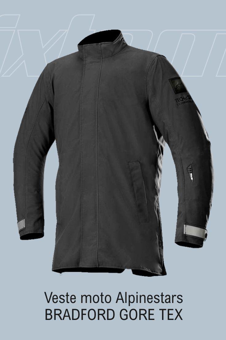 #moto #alpinestars #veste Découvrez la veste Alpinestars BRADFORD GORE TEX, veste city haut de gamme. Construite en textile résistant et équipée d'une membrane laminée en Gore-Tex®, elle assure une protection optimale contre la pluie, ne se gorge pas d'eau et sèche rapidement.