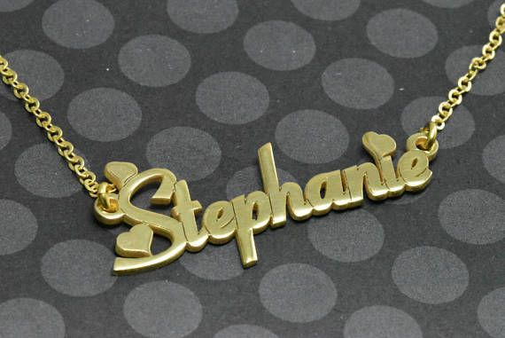 Love Custom Name Plate, Personalized Necklace, #jewelry #necklace @EtsyMktgTool #customnameplate #personalized #necklace #customnamenecklace