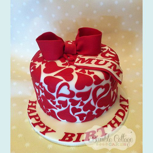 Cake Designs Hearts : 48 best images about Cake Decorating - Heart Shaped on ...